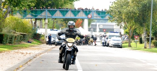 Val-de-Reuil, Ville départ du tour de France moto