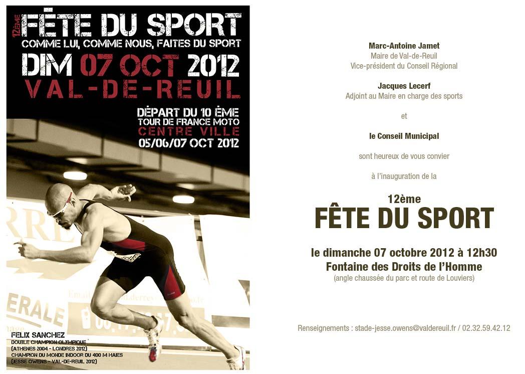 Fête du sport 2012