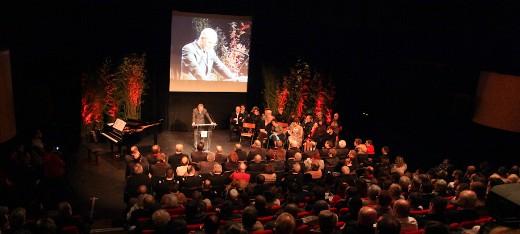 La cérémonie des voeux a rempli le théâtre des Chalands