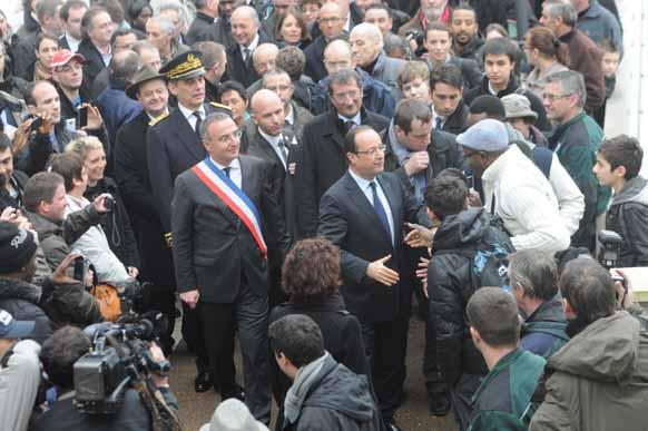 Visite de François Hollande