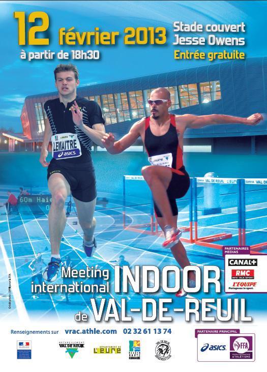 Meeting International Indoor d'athlétisme : une pléiade de champions et des milliers de spectateurs !