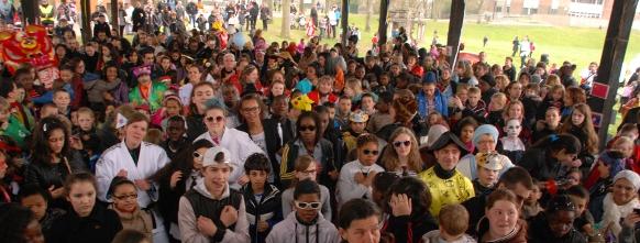 La foule au Carnaval 2013