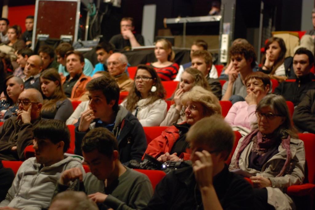 Un public attentif - Gilles Kepel 2013