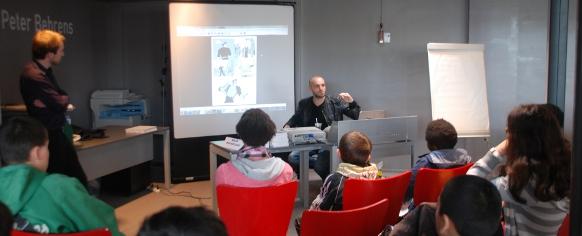 Master class au Salon des Illustrateurs 2013