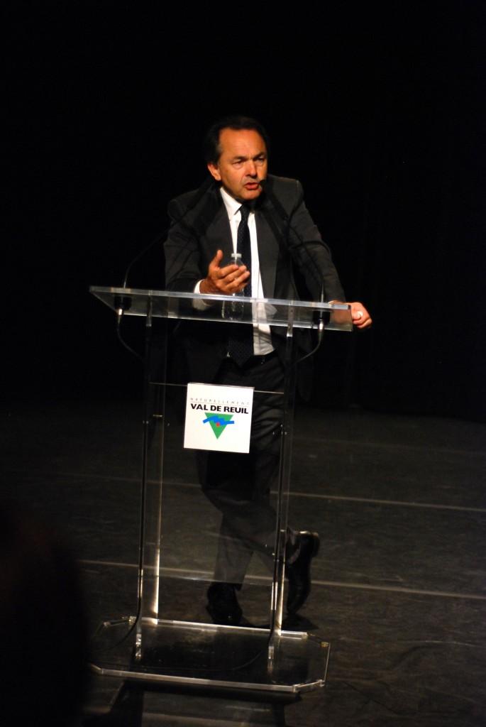 Gilles Kepel devant son public