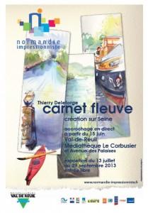 Exposition Carnet Fleuve