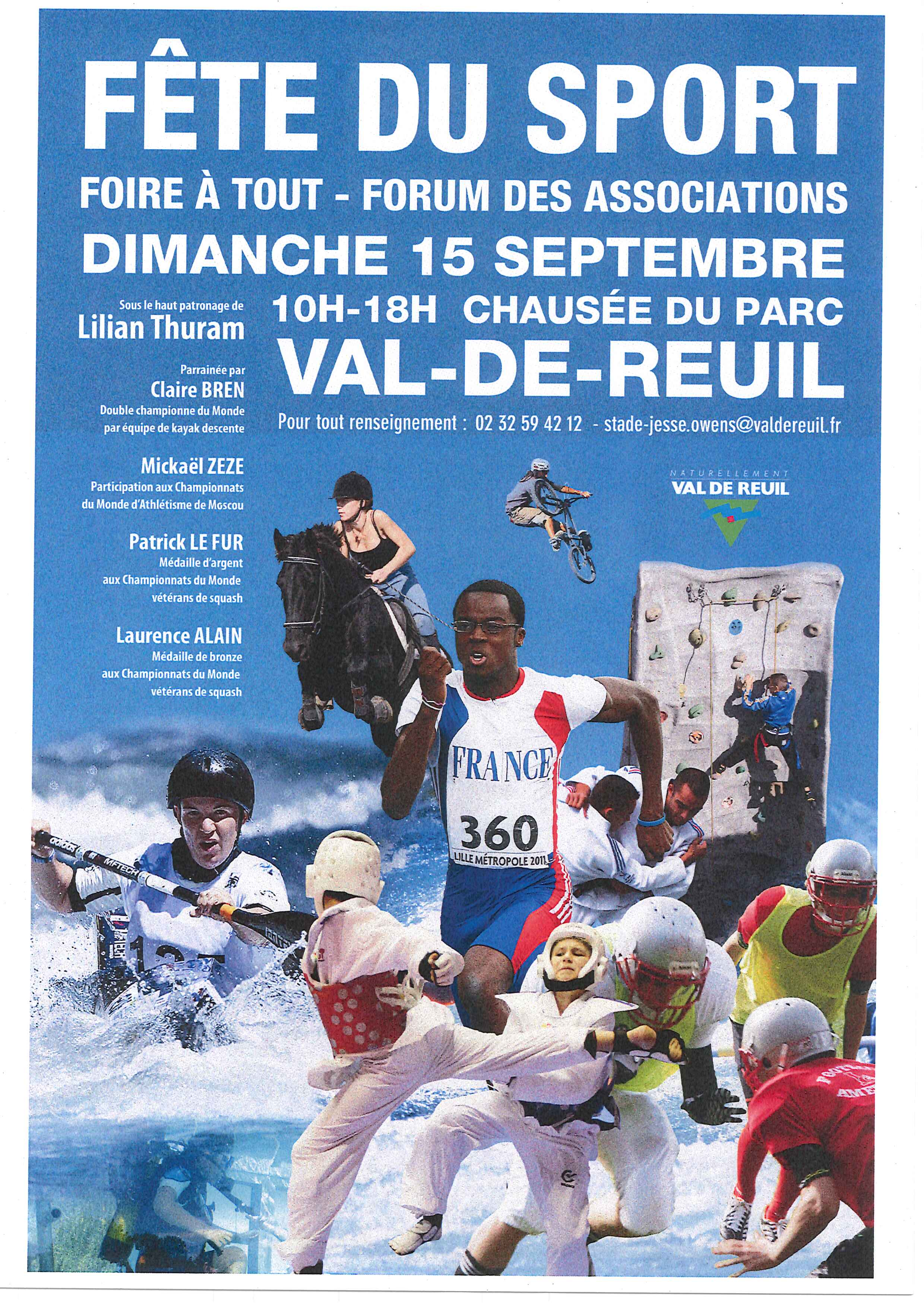 Fête du sport 2013  : venez nombreux !
