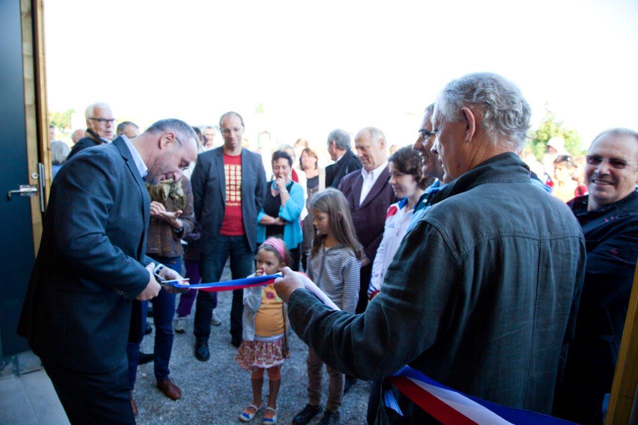 Inauguration des nouveaux locaux du club de canoë Kayak