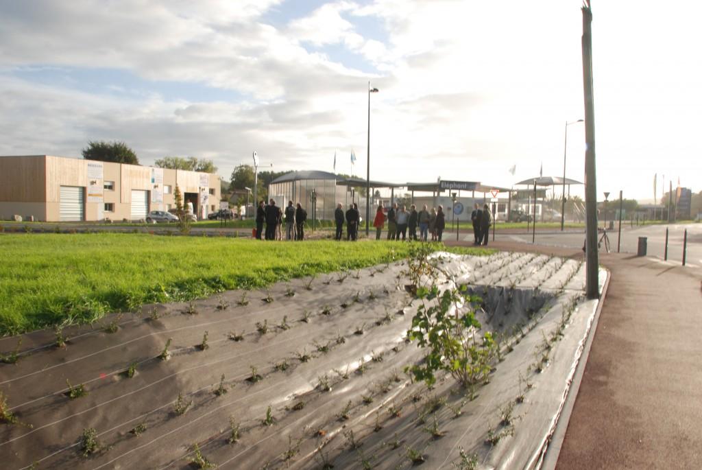 Jeudi 17 octobre 2013 Inauguration des aménagements de sécurité et des liaisons douces sur la chaussée du Vexin et la route des Sablons