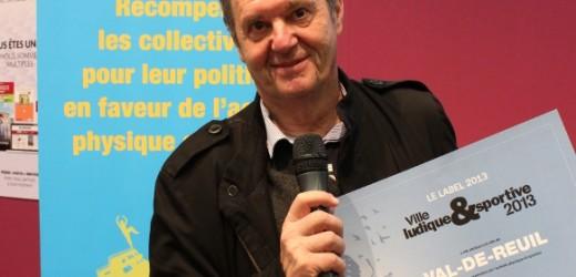 Nouveau label, nouvelle récompense : Val-de-Reuil reçoit le prix de la « Ville ludique et sportive »