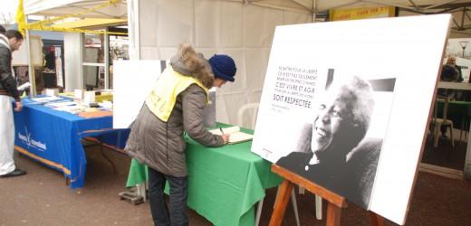 Val-de-Reuil, ville Arc-en-ciel, rend hommage à Nelson Mandela