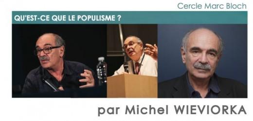 Conférence exceptionnelle de Michel Wieviorka vendredi 24 janvier à 15 h00