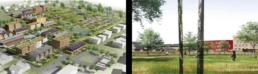 Lancement du chantier de l'Eco-quartier