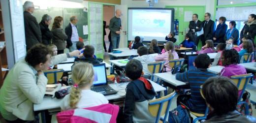 """Lancement de """"English for schools"""" vendredi 7 février à14h45 à l'école des Dominos"""