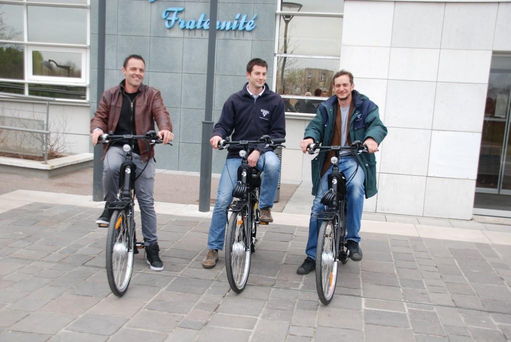 3 vélos électriques