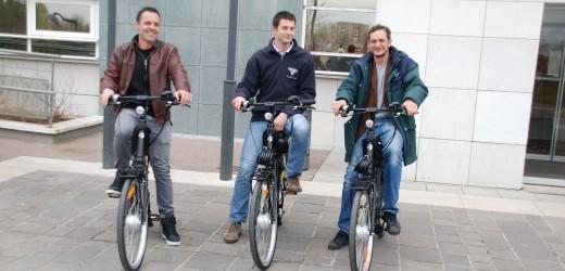 Echange voitures contre vélos électriques…