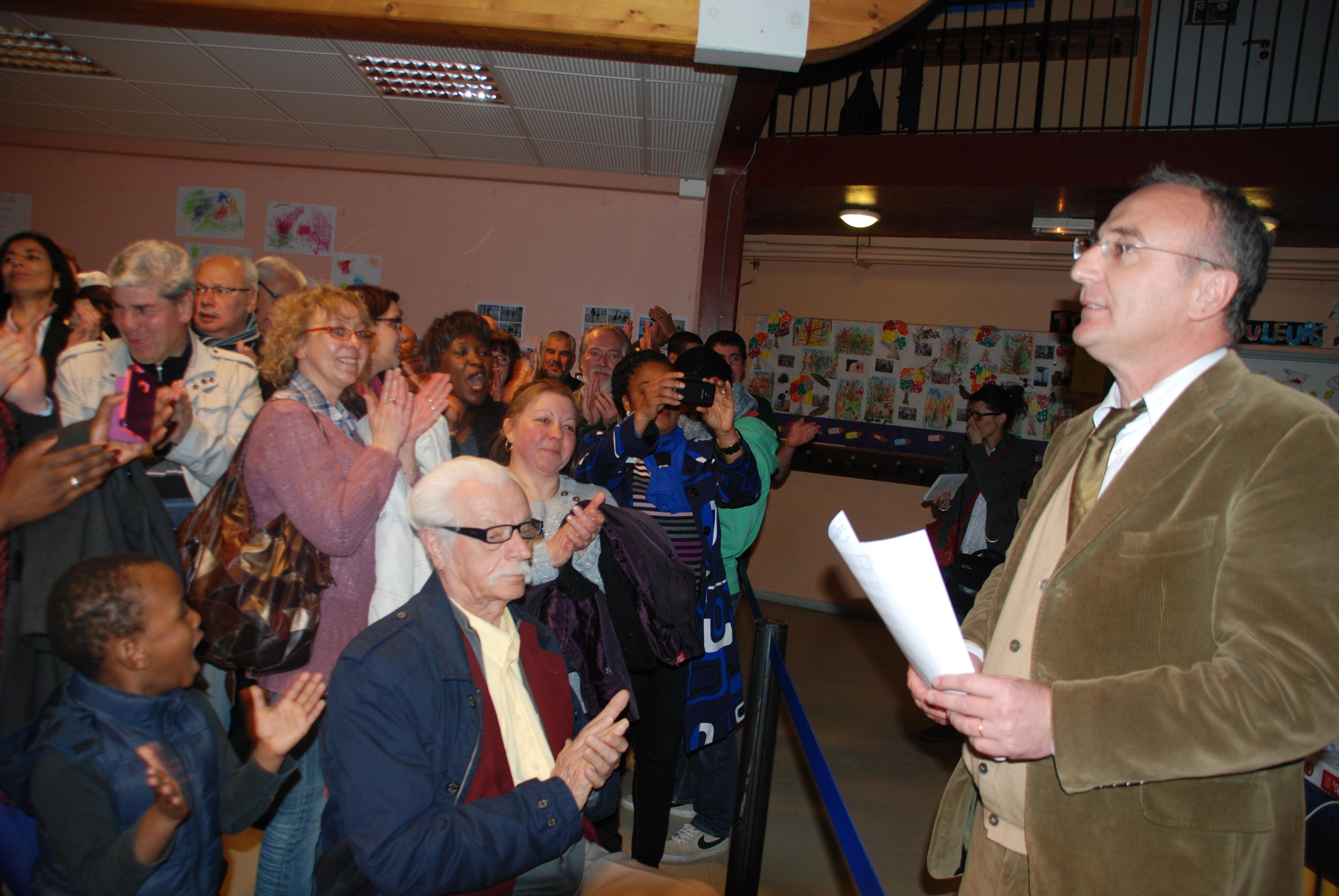 Les résultats des Municipales 2014 sont tombés, Marc-Antoine Jamet est réélu avec plus de 65% des voix