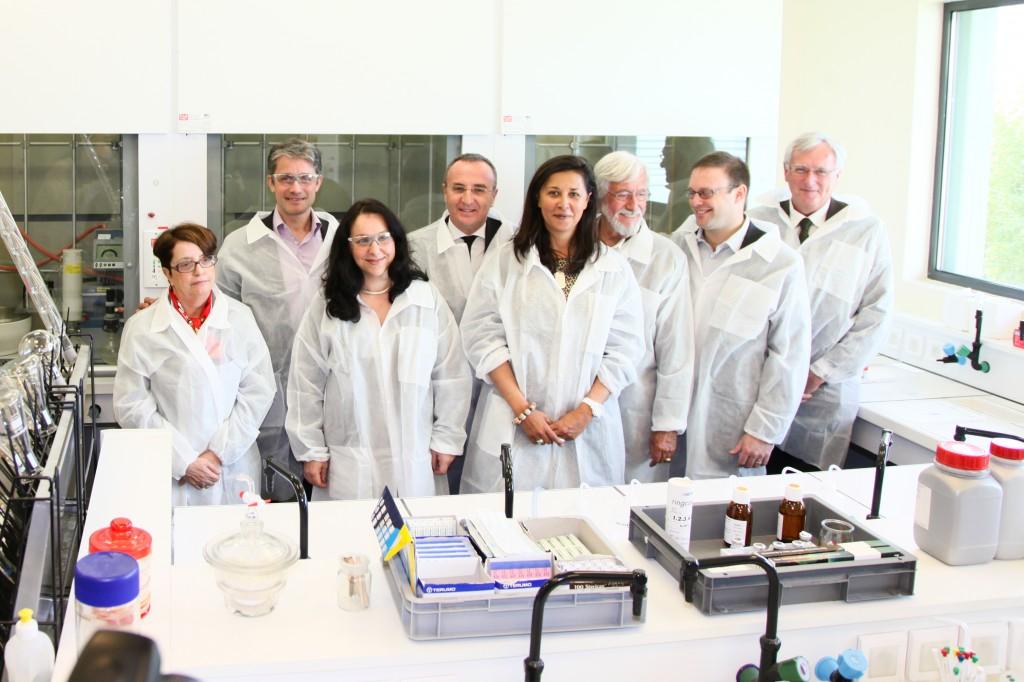 TF Chem accueille l'équipe Cousteau