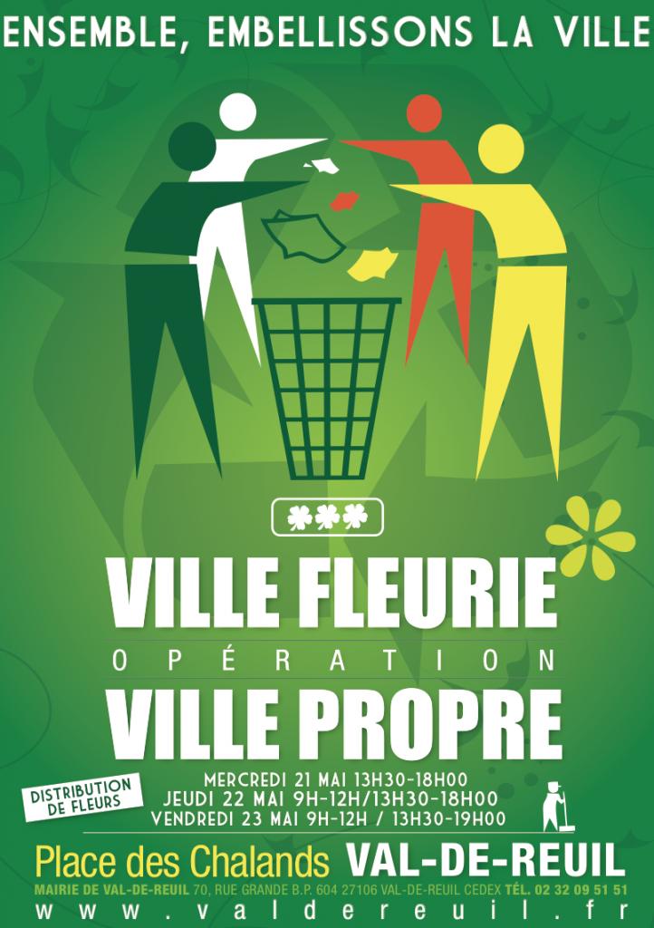 Ville propre - Ville fleurie 2014
