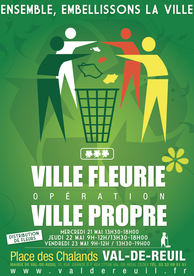 PARTICIPEZ À L'OPERATION  « VILLE FLEURIE »