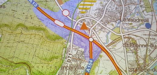 Autoroute : Marc-Antoine Jamet  refuse que l'on crée une muraille de l'argent autour de Val-de-Reuil.