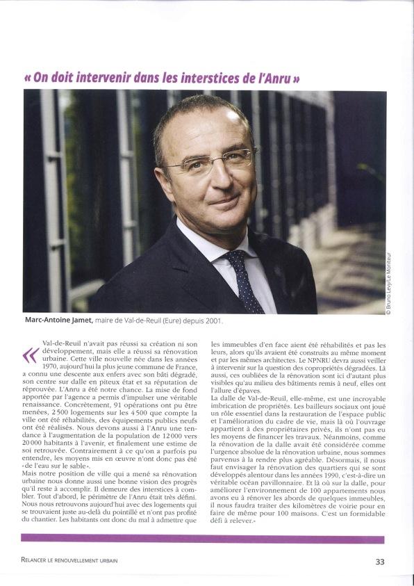 Interview de Marc-Antoine Jamet