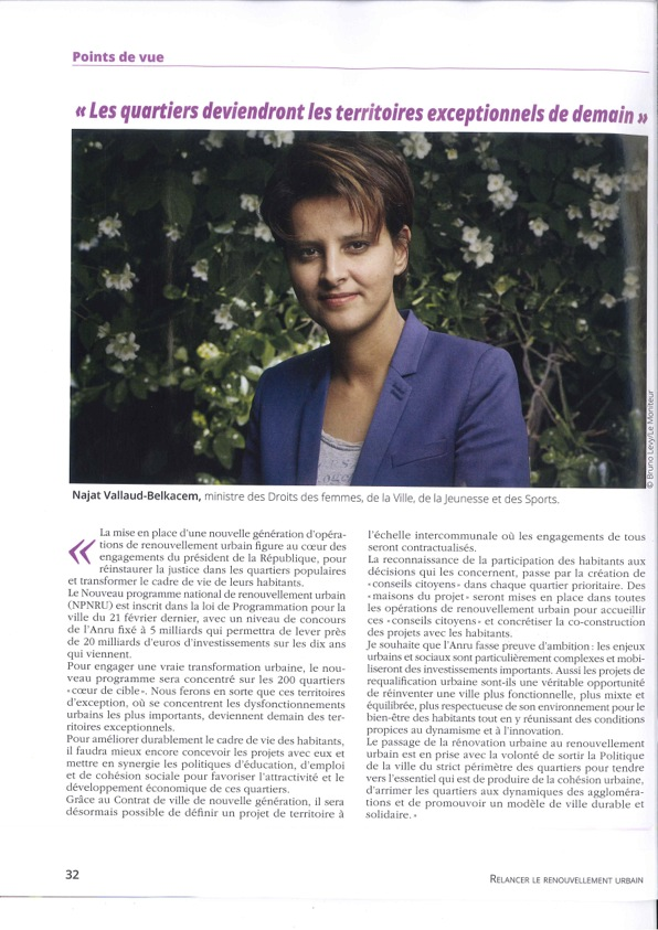 Interview de Mme Najat Vallaud Belkacem