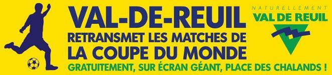 Val-de-Reuil retransmet les matchs de la Coupe du Monde 2014