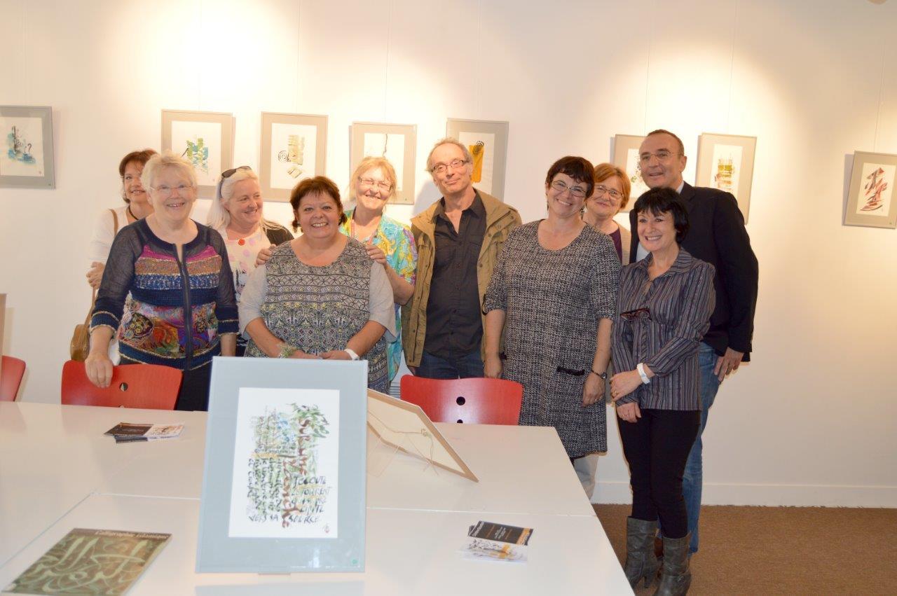 Médiathèque : exposition de calligraphies jusqu'au 8 novembre
