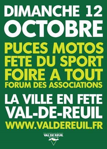 Dimanche 12 octobre : la Ville en fête !