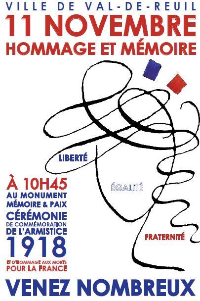 Commémoration de l'armistice du 11 Novembre 1918 - 2014