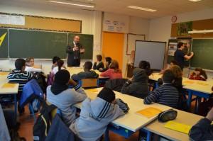 Marc-Antoine Jamet, classe de CM2 de M. Ancelin, école du Pivollet