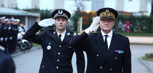 Arnaud Beldon, chef de circonscription de sécurité publique