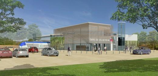 La 1ère pierre de la nouvelle gare SNCF posée !