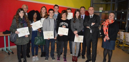 Baccalauréat : remise des diplômes 2014