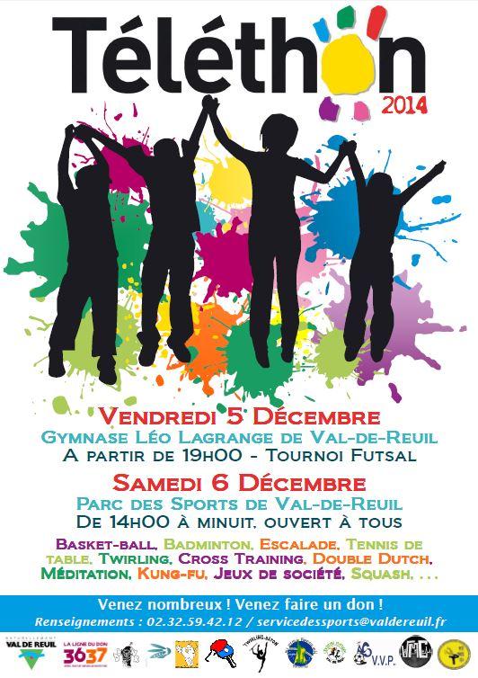 Téléthon les 5 et 6 décembre : Participez ! Faites un don
