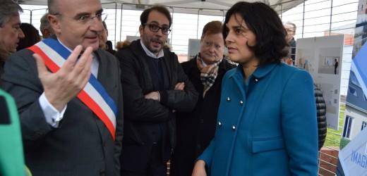 Première étape du PNRU2 : Val-de-Reuil reçoit la Ministre en charge de la Politique de la Ville
