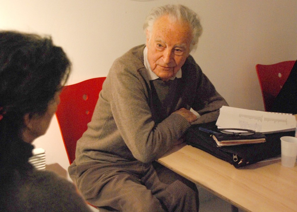 Gérard Thurnauer, toujours présent pour la Ville, lors d'une réunion du Plan Stratégique Local en mars 2012