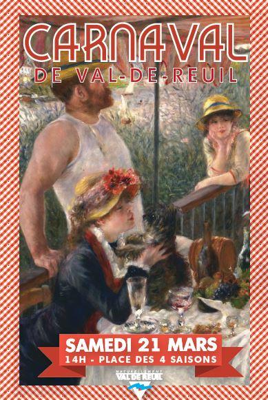 «Guinguette et impressionnistes», le thème de votre carnaval, samedi 21 mars
