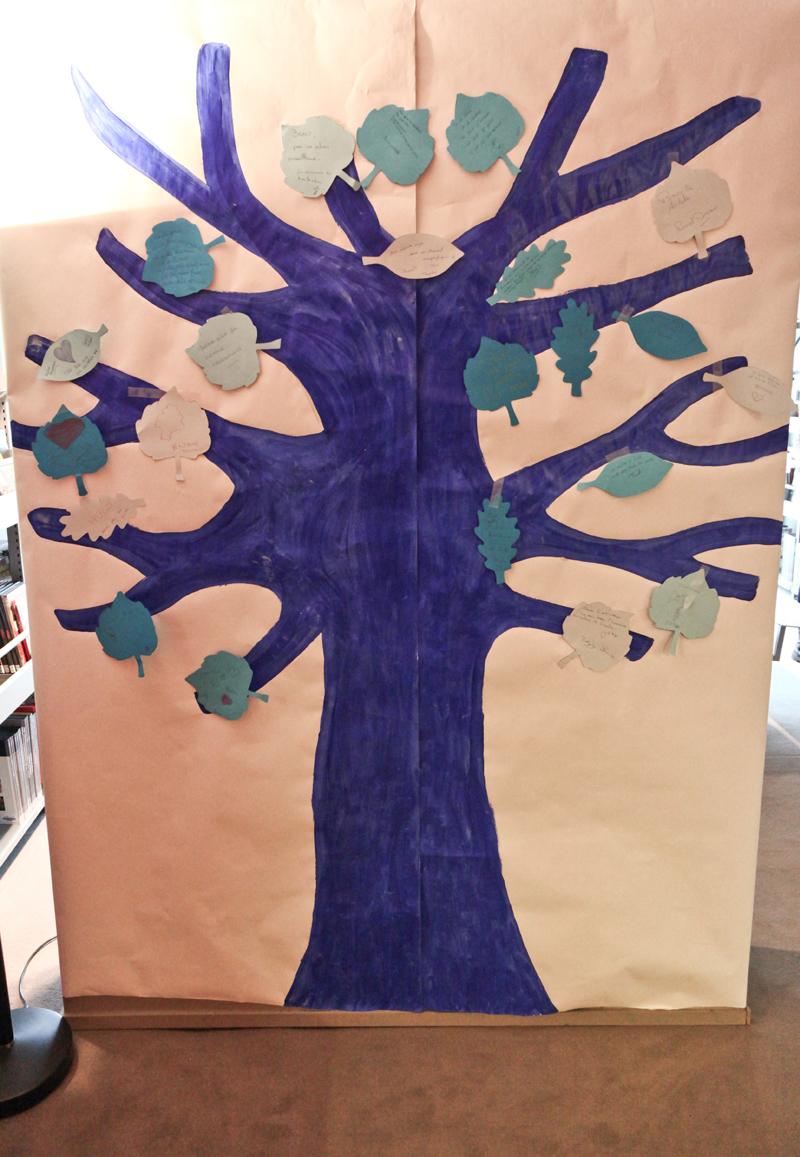 Une exposition «L'arbre de printemps» pour la journée internationale de l'autisme