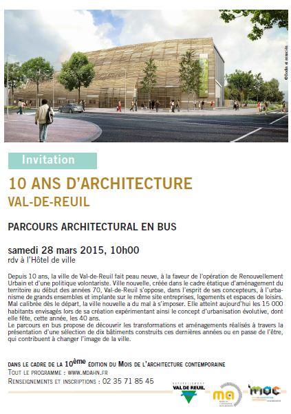 Parcours architectural en bus samedi 28 mars