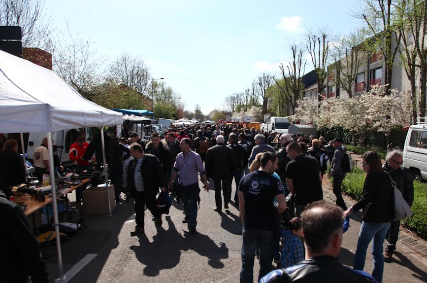 Les Puces moto : le soleil et plus de 40 000 visiteurs !