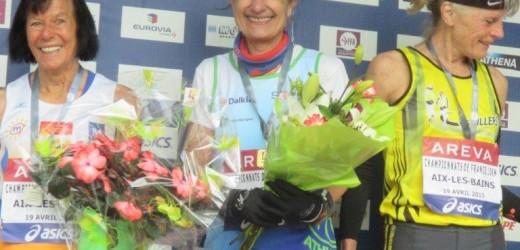 Athlétisme : 2 médailles pour 4 participants du VRAC à Aix Les Bains !