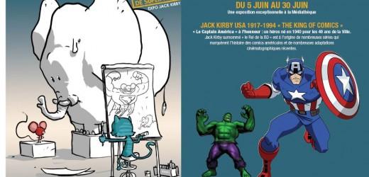 """""""40 ans de super héros"""" au salon de la BD et des illustrateurs les 5 et 6 juin"""
