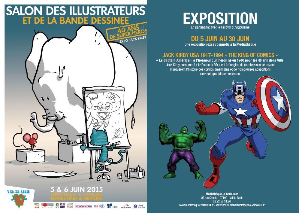 «40 ans de super héros» au salon de la BD et des illustrateurs les 5 et 6 juin