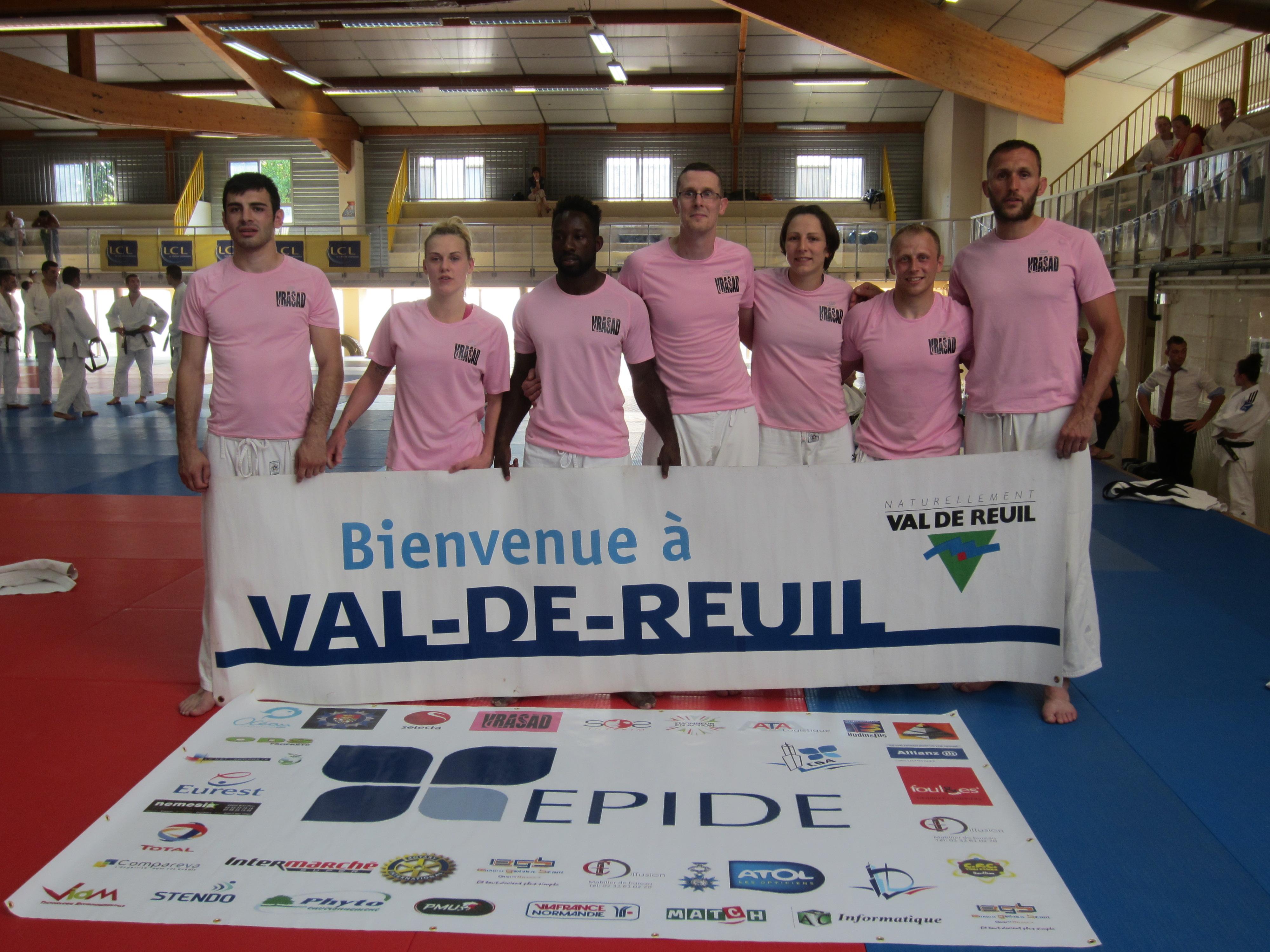 Une pluie de médailles pour la VRASAD lors du championnat de France de judo FCD