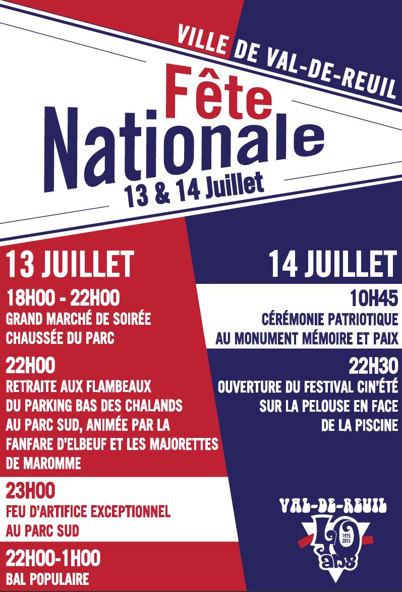 Fête nationale : 2 jours de festivités, 6 évènements à ne pas manquer !