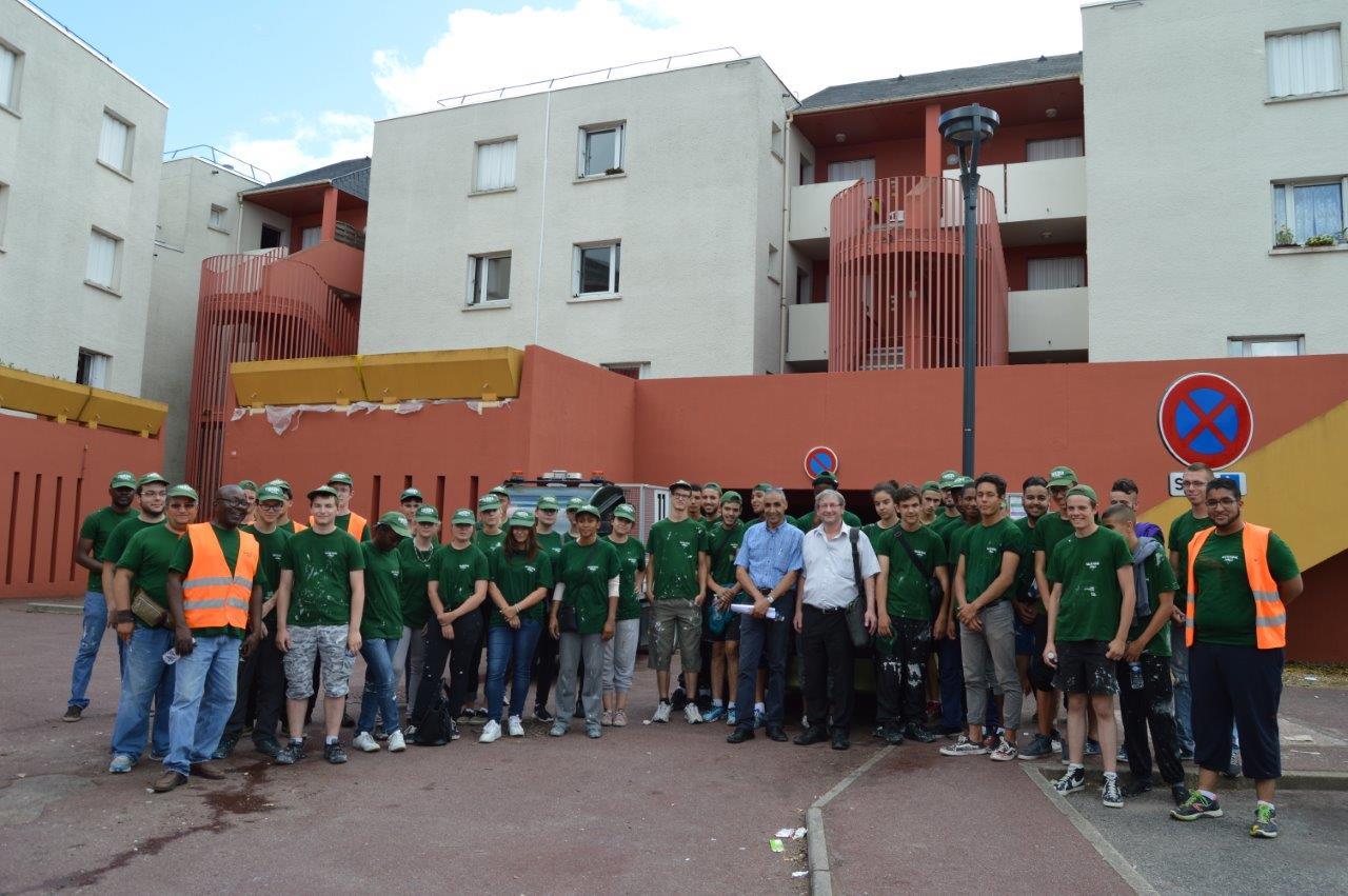 Chantiers jeunes : pour le 40ème été rolivalois, 40 jeunes embellissent la Ville !