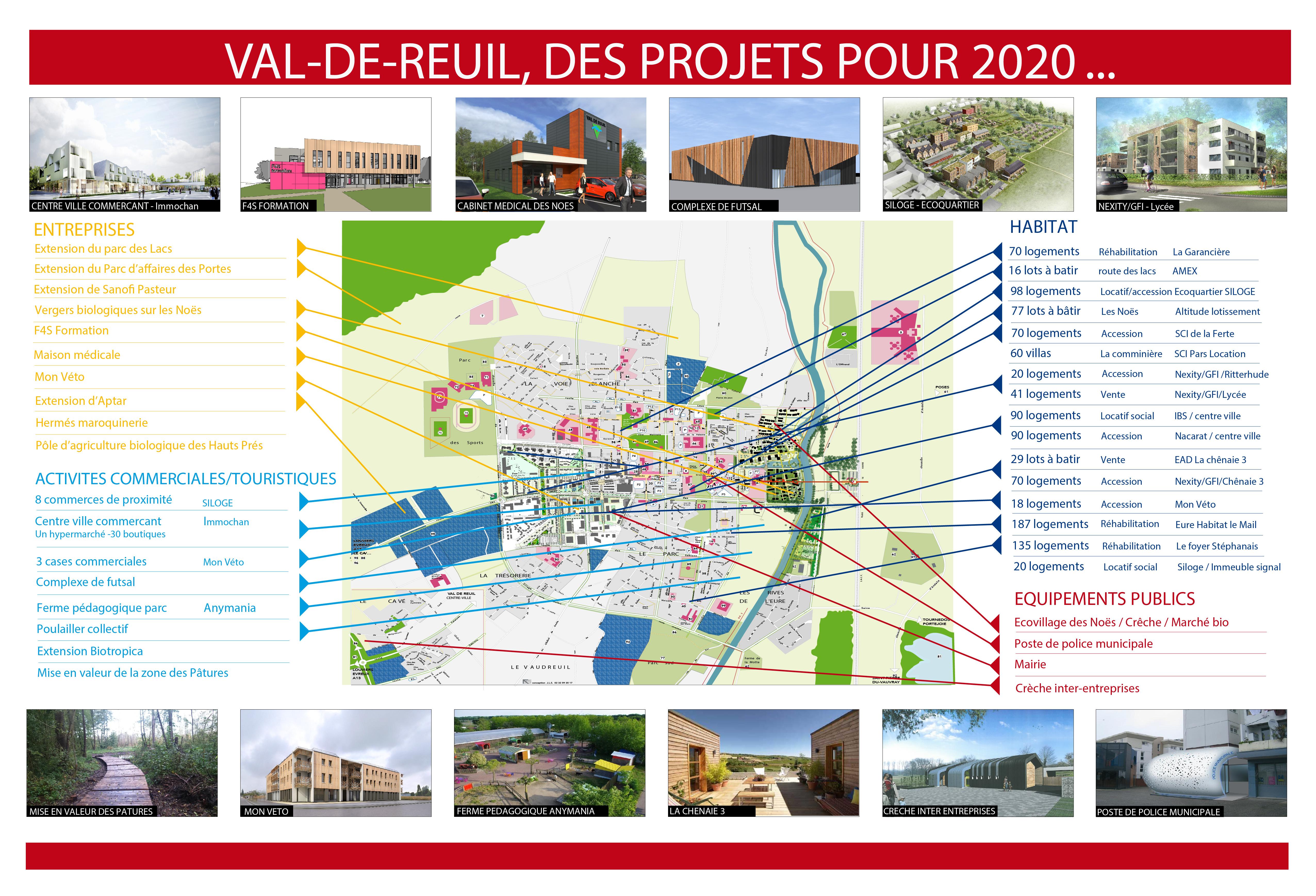 Vente de terrains à Val-de-Reuil : un million d'euros pour la Ville