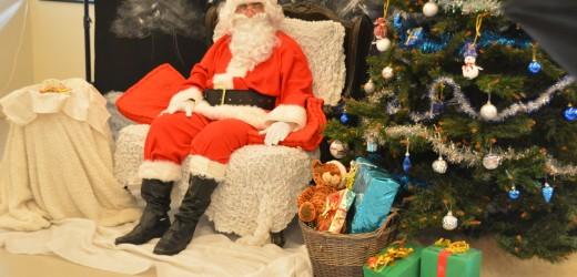 Le Père Noël a fait escale à Louise Michel